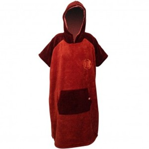 After Poncho Sherpa - Burgundy
