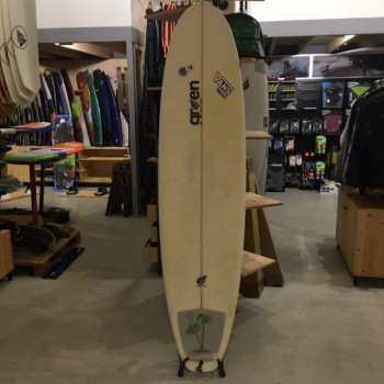 Surf occasion Green 7'2