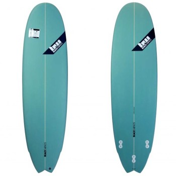 Planche surf Black Wings 6'9 FISH 6PACK Tint