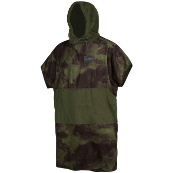Mystic Poncho Allover Brave Green