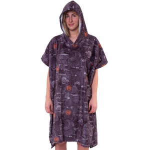 Poncho After Sea World - Dark Grey