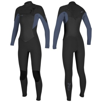 Combinaison O'Neill Femme Epic 4/3 Chest Zip Full Abyss/French Navy