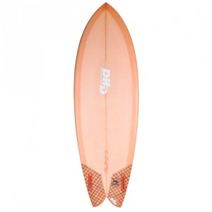 Surf DHD Summer Series Mini Twin FCS Resin Orange