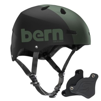 Casque Bern Macon H2O Matte Army Green Team LTD
