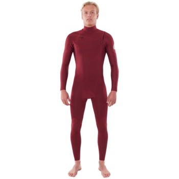 Combinaison Rip Curl Dawn Patrol 5/3mm Chest Zip 2021 Maroon