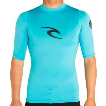 Lycra Rip Curl Corpo S/SL UV Tee 2020 Blue
