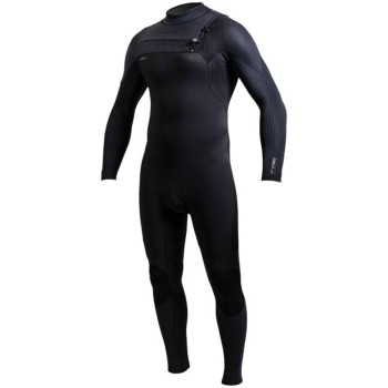 Combinaison O'Neill Homme Hyperfreak 3/2 Chest Zip Full Black
