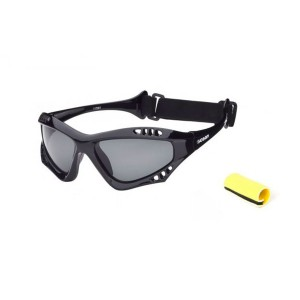 Lunettes Sports Ocean Sunglasses Cumbuco Shinny Black + Revo