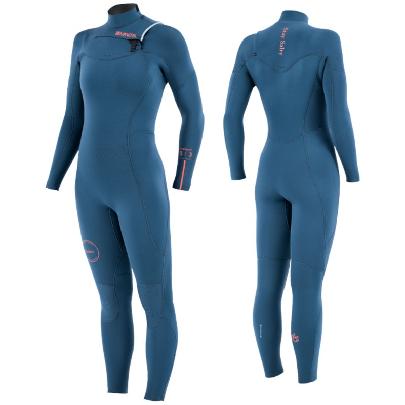 Combinaison Femme Manera Seafarer 5/3mm 2021 Front Zip Cascade (copie)