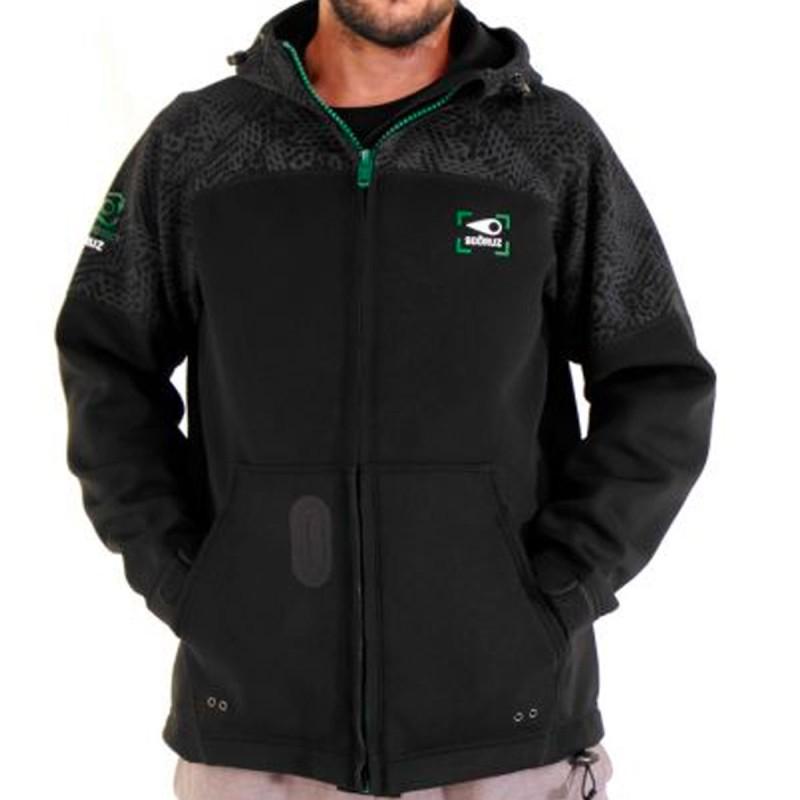Sweat Sooruz Jacket Neo Jacket Zip Hood WESTSIDE Noir