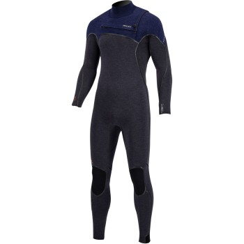 Combinaison Prolimit 2021 Mercury TR FREE-X Steamer 6/4mm - Front Zip Black/Blue