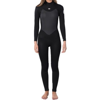 Combinaison Rip Curl Femme Omega 4/3mm Back Zip 2021 Black