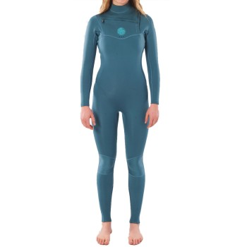Combinaison Rip Curl Femme Dawn Patrol 5/3mm Chest Zip 2021 Green