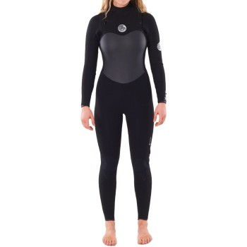 Combinaison Rip Curl Femme Flashbomb 5/3mm Chest Zip 2021 Black