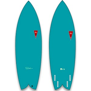 Planche de surf en mousse JJF by Pizel AstroFish 2021 Bleu
