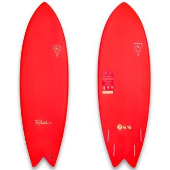 Planche de surf en mousse JJF by Pizel AstroFish 2021 Rouge