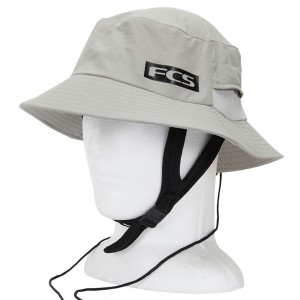 Bob FCS Surf Bucket Hat Light Grey