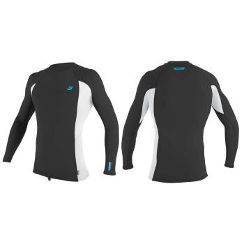 Lycra O'neill Premium Skins L/S Rash Guard Raven / White