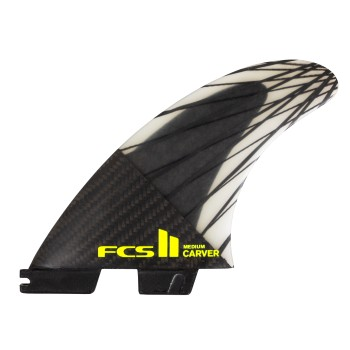 Ailerons FCS II Carver PC Carbon Medium Tri Set