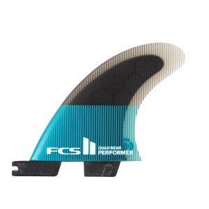 Ailerons FCS II Performer PC Medium Quad Rear Retail Fins