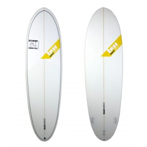 Planche surf Blackwings 6'10 EGG Cristal Clear