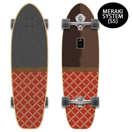 "Surf skate YOW Teahupoo 34"" S5"