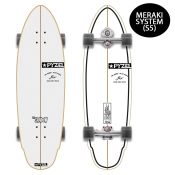 "Surf skate YOW Shadow 33.5"" Pyzel x Yow"