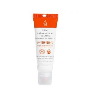 Combi Stick EQ SPF50+ Crème Solaire SPF50 Bio