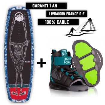 Pack Wakeboard Liquid Force enfant Rant / Rant 2021