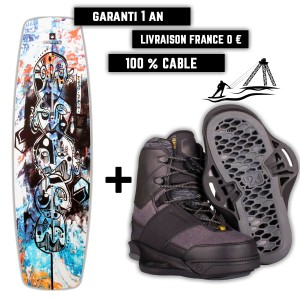 Pack Wakeboard Liquid Force Butterstick Pro / Peak 6X 2021