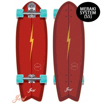 Surf skate YOW Pipe 32″ High Power Surfing Series