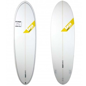 Planche surf BlackWings 6'6 EGG cristal clear
