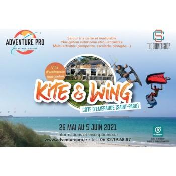 Kite & Wing – 26 mai au 5 juin 2021 - Cote d'Emeraude