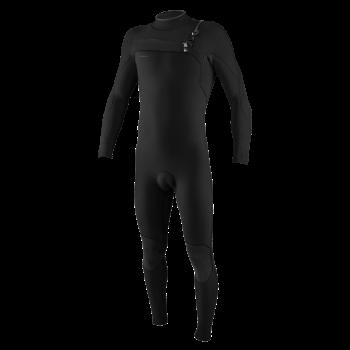 Combinaison O'Neill Homme Hyperfreak 4/3 Chest Zip 2021 Black / Black