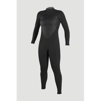 Combinaison O'Neill Femme Epic 4/3 Back Zip 2021 Black/Black/Black