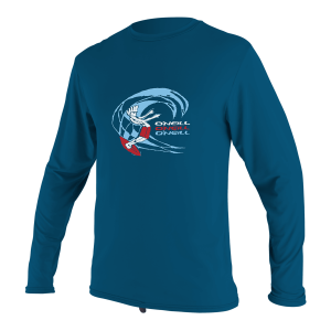 Lycra O'neill Enfant O'Zone L/S Sun Shirt 2021 Ultra Blue