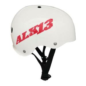 Casque ALK13 H2O White - Red Logo