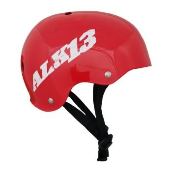 Casque ALK13 H2O Red - White Logo