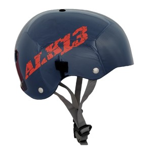 Casque ALK13 H2O Blue - Red Logo