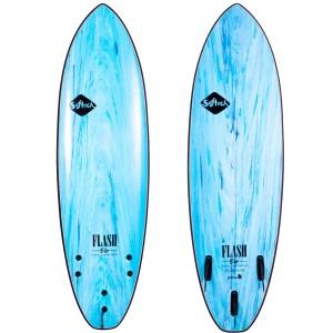 Planche Surf Softech Flash Eric Geileman FCS II Aqua