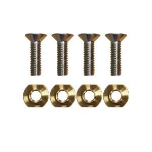 Visserie foil système de montage 4 pièces (vis + écrous)