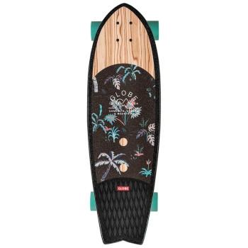 "Skate Cruiser Globe Sun City 30"" Olivewood / Neon Jungle"