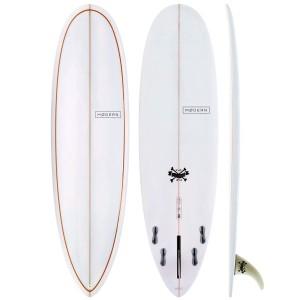 Planche de Surf Modern Surfboards Love Child PU Grey Org Pinlines