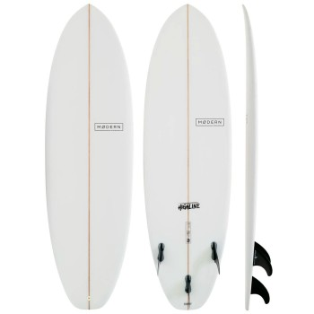 Planche de Surf Modern Surfboards Highline Clear