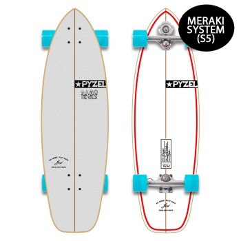 Surf skate YOW x Pyzel Ghost 33.5″