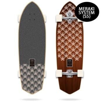 "surf skate yow padang padang 34"" power surfing series"
