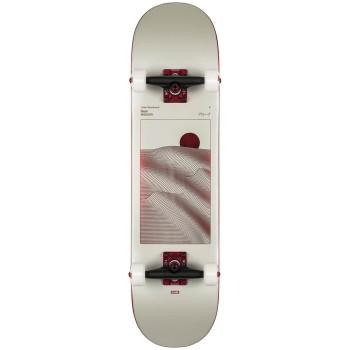 """Skate Cruiser Globe G2 Parallel 8,0"""" Off-White Foil / Horizon"""
