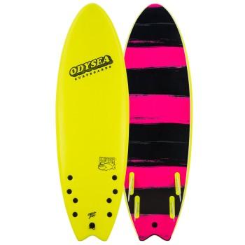 Planche Surf Catch Surf/Odysea Skipper Quad 6'6 Jaune
