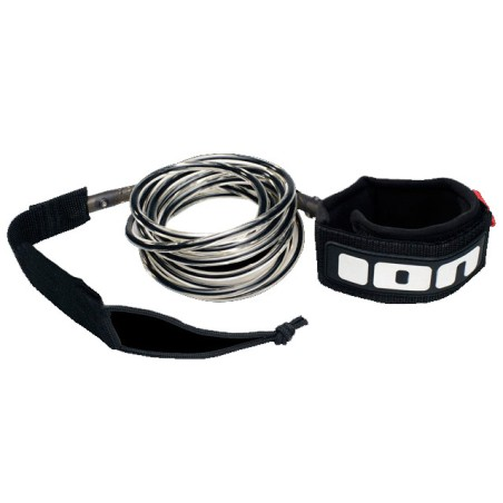 ION Surfboard Leash 6 pieds Black