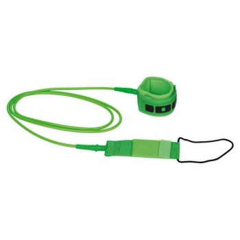 ION Surfboard Leash 6 pieds Green